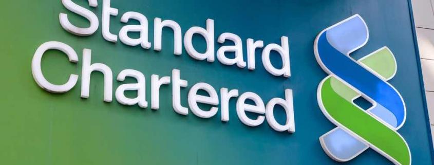 (F) stanchart bank logo