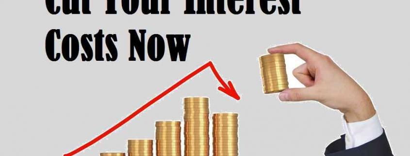cut interest costs