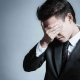 man distressed by mortgage interest rising