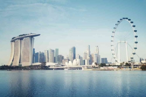 singapore property market as depicted by Marina Bay skyline