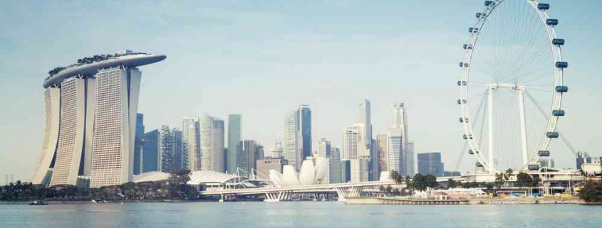 singapore property market as depicted by Marina Bay skyline