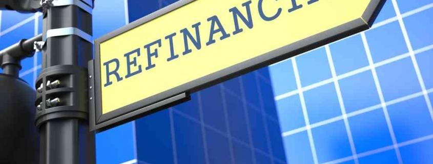 refinancing sign