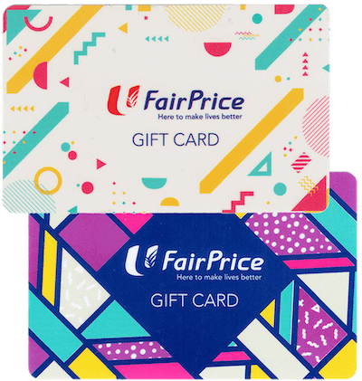 NTUC Fairprice gift card